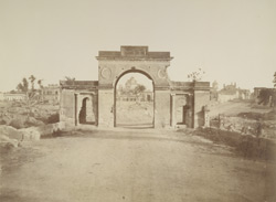 Baillie Guard [Gate] from the inside, Lucknow.